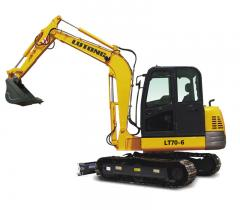 Mini Hydraulic Excavators ( Model: LT70-6 )