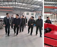 省工信委来孟验收洛阳农机及工程机械产业集群