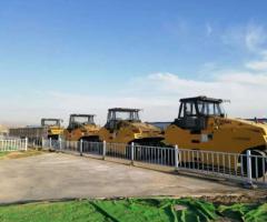 2019年中标新疆中交系统LTP2030H全液压胶轮压路机15台。