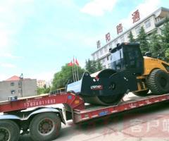 """""""洛阳造""""全球最大吨位压路机交付客户"""